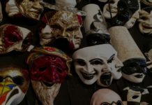 Men Masquerade Masks