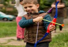 Bow and Arrow Sets for Kids