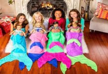 Best Mermaid Tail Blankets