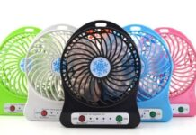 Best Portable Rechargeable Fans
