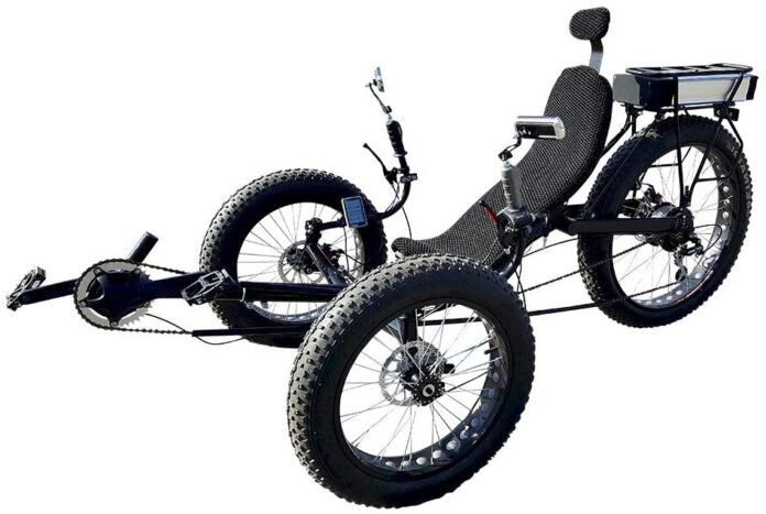 Fat Tire Electric Recumbent Trike