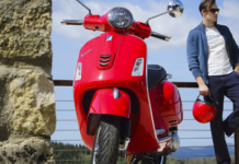 About The Electric Vespa Scooter