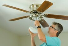 installation-ceiling-fans