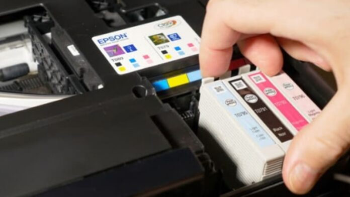 change-printer-cartridge