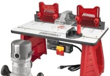 How to use a Craftsman Router Table