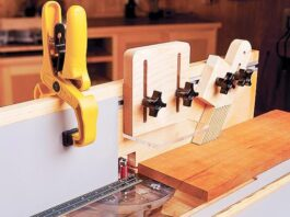 Router Table Jointer