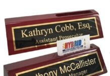 Best Desk Name Plates
